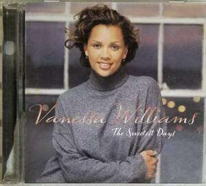H68日本盤/送料無料■ヴァネッサウィリアムズ「TheSweetestDays」CD/VanessaWilliams歌詞、対訳、解説付き。