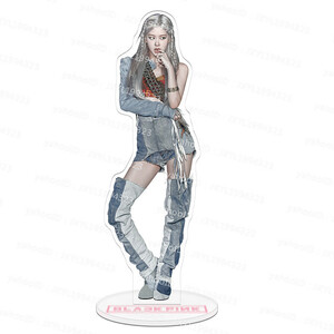 """★ limited new one piece ★ super popular Korean idol group """"Park cheyon Rosé ROSE"""" acrylic doll stand BLACKPINK black pink"""
