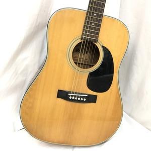 中古 Morris モーリス アコースティックギター アコギ W-15 ライトブラウン シルバー金具 6弦 弦楽器 H15143