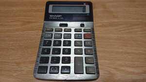 SHARP ELSI MATE EL-336L 電卓 中古品