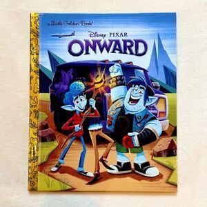 新品/ディズニー 英語絵本 ゴールデンブック 洋書 ピクサー 2分の1の魔法