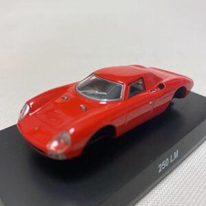 1/64 京商 サンクス フェラーリ 7 ネオ 250 LM 朱赤 レッドオレンジ