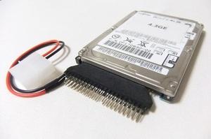 【保証付・送料198円~】NEC製 PC-98シリーズ用内蔵2.5/3.5両用IDE HDD 4.3GB 信頼の富士通製HDD 保証付 予備やバックアップに 動作確認済