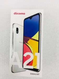 Galaxy A21 SC-42A ホワイト SIMフリー 新品未使用