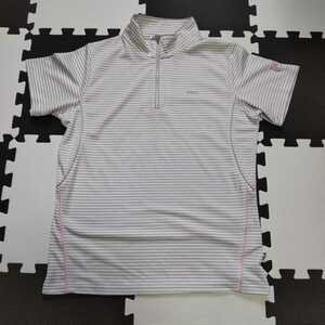 FILA【良品】ハーフジップ 半袖ポロシャツ☆サイズ2L NR321
