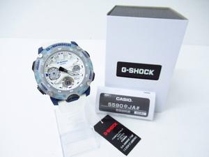 未使用 CASIO G-SHOCK カシオ G-ショック GA-2000HC-7AJF クォーツ アナデジ腕時計 ▼AC20119