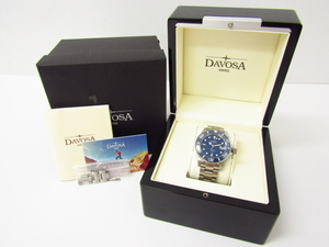 DAVOSA ダボサ 1801-2824 自動巻き腕時計♪AC20231
