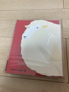 新品 マークス コレクションアルバム ヒツジ 写真入れ 100枚 フォトアルバム