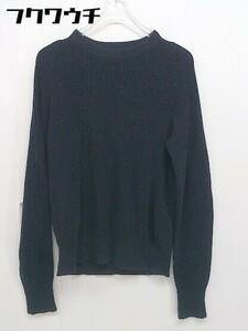 ◇ Steven Alan UNITED ARROWS コットン100% 長袖 ニット セーター 表記なし ネイビー レディース