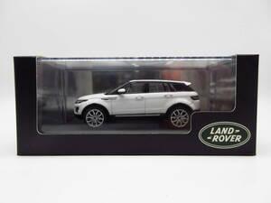 1/43 ランドローバー レンジローバー イヴォーク 4ドア ディーラー特注 成約記念品 非売品 ミニカー ホワイト