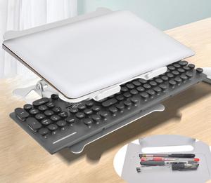 折りたたみ式 ノートパソコンスタンド パソコンスタンド ノートPCスタンド 角度調整自由 macbook