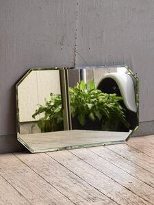 イギリス アンティーク  壁掛けミラー 鏡 10118
