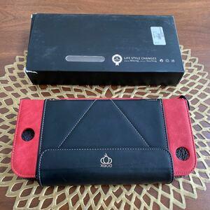値下げ!Nintendo Switch カバーケース スタンド使用可 手帳型 ゲームカード収納 レザー 落下防止 持ち運び