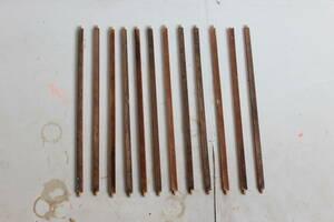 【アンティーク】木の棒 12本