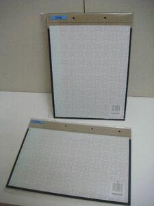 YS/E07BA-PEV 未使用品 KOKUYO コクヨ 2セット 製本カバー 綴り込み表紙 ファイリング用品 縦 横 A4-S A4-E