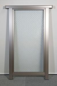 AR1806◆展示室◆FIXサッシ◆網入りガラス◆ペアガラス◆すりガラス◆枠内内 W480 H980