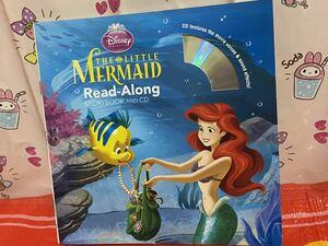 ☆洋書 絵本 The Little Mermaid Read-Along Storybook and CD リトルマーメイド