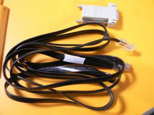 送料最安 000円 CON29:シリアル変換コネクタ+(8芯)モジュラーケーブル(モデム接続用?)