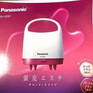 Panasonic 頭皮エステ サロンタッチタイプ EH-HE97-VP(ビビッドピンク調)