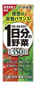 200mL 伊藤園 1日分の野菜 紙パック 200ml&24本