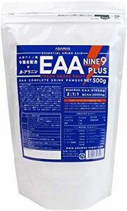 アダマス EAA パウダー 500g 必須アミノ酸 全9種類 BCAA &アラニン 溶けやすい顆粒 グレープフルーツ