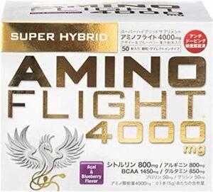 50本入り アミノフライト4000mg 5g&50本入り アサイー&ブルーベリー風味 顆粒タイプ