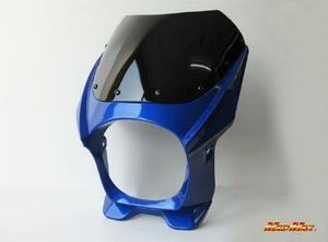 【送料800円】MADMAX バイク用品 オートバイ 180φ 汎用 ビキニカウル ブルー CB400SF-V/SR/SRV/ZRX/ゼファー400/Z400FX/Z250FT/GSX250/GSF