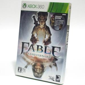 ■【新品未開封】Fable Anniversary 初回生産版 Xbox360 フェイブル アニバーサリー HDリメイク版 CERO:Z Fable1 フェイブル1 ■ M