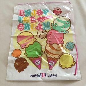 ショルダー ポリバッグ バック かばん カバン 鞄 非売品 巾着 サーティワン 31 福袋 baskinBRrobbINS オリジナル アイスクリーム