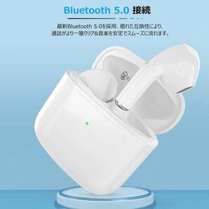 ★送料無料★新品 Bluetooth 完全ワイヤレスイヤホン Bluetooth5.0対応 IPX4防水規格 PSE認証済 ホワイト 無線 ELEPHAS
