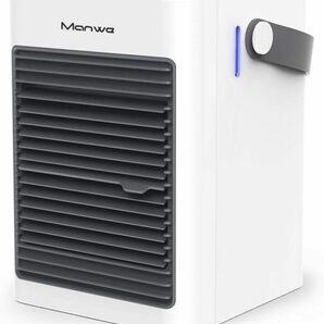 ★送料無料★新品 冷風機 冷風扇 クーラー スポットエアコン 小型 卓上 USB給電式 3段階風量 転倒自動OFF 氷いれ可能 熱中症対策 Manwe