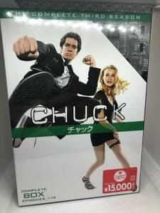 ★☆新品・未開封 DVD 海外ドラマ CHUCK チャック コンプリートボックス サードシーズン エピソード1-19 9枚組☆★