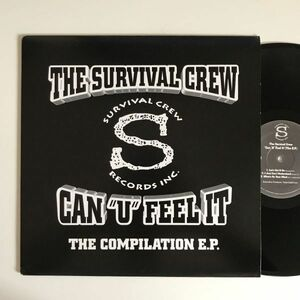 The Survival Crew - Can 'U' Feel It (The E.P.)【USオリジナル】