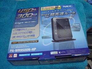NEC ワイヤレス ブロードバンドルータAterm WR9500N(HPモデル) 送料無料