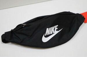 新品 NIKE ナイキ ヘリテージ ウエストバッグ ボディバッグ ウエストポーチ 男女兼用 ヒップバッグ 黒