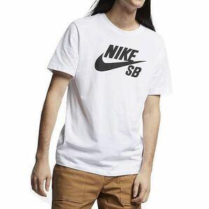 新品 Lサイズ NIKE SB ナイキ SB メンズ ロゴTシャツ 半袖Tシャツ ドライフィット ホワイト 白