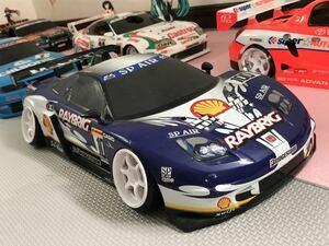 送料無料 ラジコン ボディ 1/10 ホンダ NSX レイブリック レースカー HONDA RAYBRIC