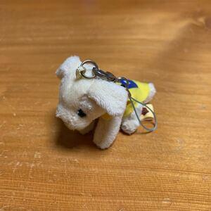 介助犬 キーホルダー ストラップ 携帯ストラップ 日本介助犬協会 非売品 レア 希少 中古品 美品 未使用品 送料無料