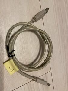 送料込 中古 USB2.0 ケーブル タイプAオス - タイプAオス 1m クリーム