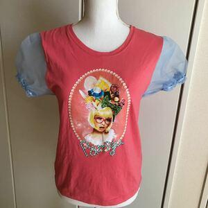 Free Shipping ★ Kyary Pamyu Pamyu · T-shirt size M Cairy Pink