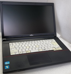 良品 富士通A573 Corei3-3120M 2.5Ghz・4GB・SSD128GB・DVDマルチ・OFFICE2019・Win10・Bluetooth・WIFI     51410