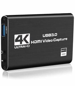 HDMIキャプチャーボード ビデオキャプチャー 4K 60HZパススルー対応