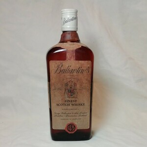 ②Ballantine's オールドバランタイン ファイネスト 赤青紋章 スコッチ ウイスキー 760ml 43度従価 ※未開栓