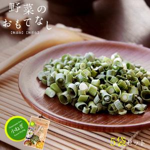 乾燥小ねぎ4g×5袋セット(野菜のおもてなし)無添加 無着色 ニューフリーズドライ製法 小ネギ 小葱 乾燥野菜 小口切 国産やさい使用