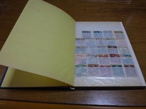 030520「使用済切手 ブック1冊  日本切手 外国切手」