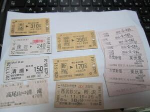 切符 軟券の商品画像