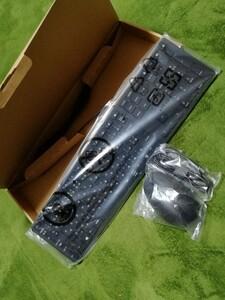 新品未開封★hp キーボード、マウスのセット(有線)