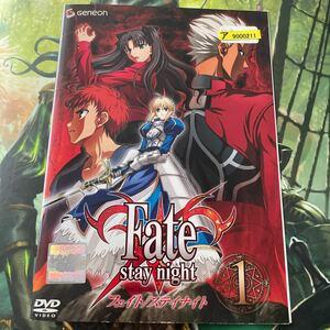 Fate stay night  DVD全8巻セット