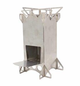 折り畳みができるコンパクトロケットストーブ(収納袋付き)