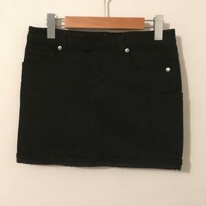 UNIQLO 表記無し ユニクロ スカート ミニスカート uniqlo undercover Skirt Mini Skirt, Short Skirt 黒 / ブラック / 10016834